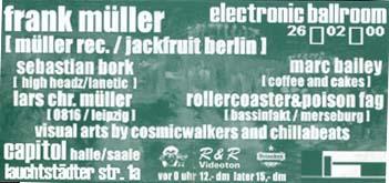 Flyer electronic ballroom