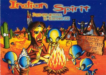 Flyer indian spirit open air