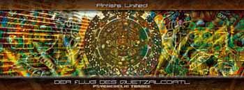 Flyer der flug des quetzalcoatl