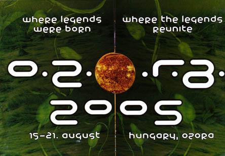 Flyer ozora festival