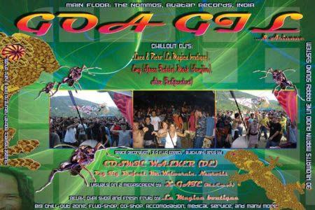 Flyer goa gil open air 2007/07