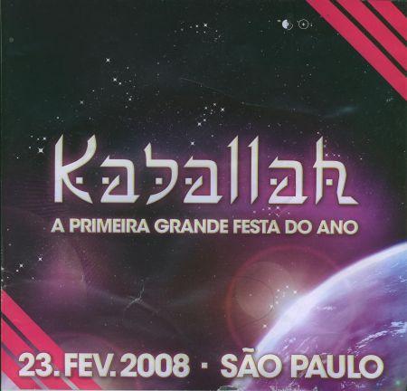 Flyer kaballah
