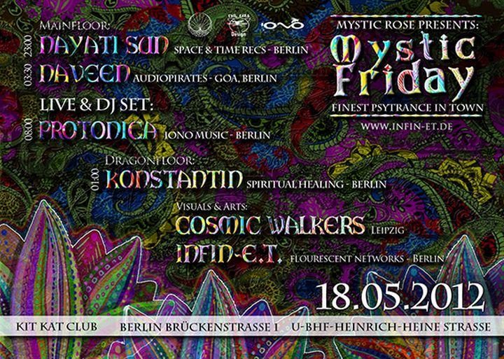 Flyer mystic friday