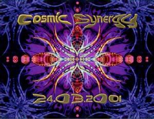 Flyer cosmic synergy