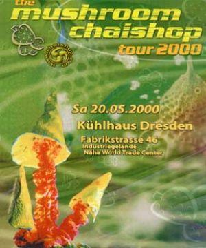 Flyer the mushroom chaishop tour 2000
