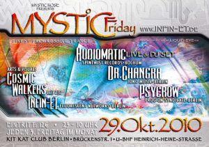 Flyer mystic friday 2010/10